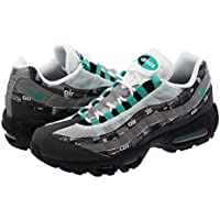 [ナイキ] AIR MAX 95 PRINT BLACK/CLEAR JADE/MEDIUM ASH/DK PEWTER 【atmos】 【WE LOVE [並行輸入品]
