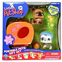 Littlest Pet Shop (リトルペットショップ) Exclusive Portable Pets ギフトセット (ギフトセット) with Kitten & Scottish Terrier(並行輸入)