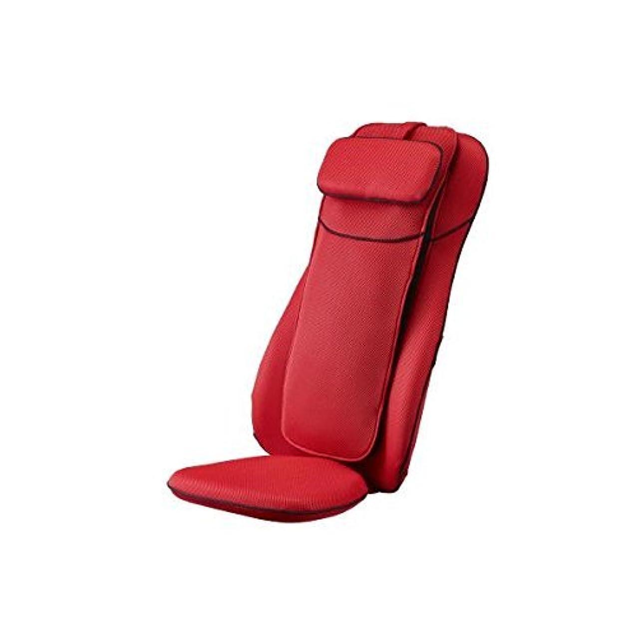 家具すばらしいです雪だるまを作るフジ医療器 シートマッサージャー(レッド)my relax(マイリラ) MRL-1000RE