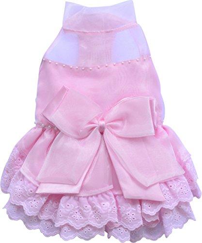 Doggydolly Pink Dressセレクション、パグ、フレンチブルドッグM - 0.22 kg