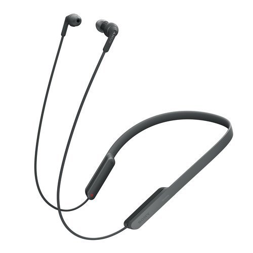 SonyプレミアムBluetoothワイヤレスExtra Bassスポーツインイヤbehind-the-neckデザインnoise-cancelingヘッドフォン
