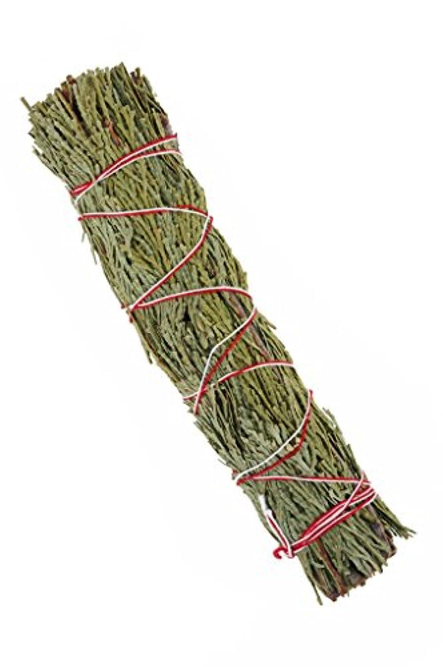 最小語サービスNewAge Smudges and Herbs CSW7 大型シダーセージワンド 7インチ シングルスマッジ