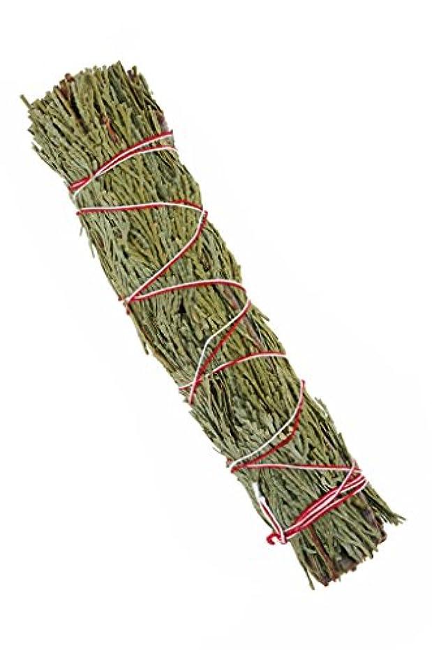 形ヘルパー使役NewAge Smudges and Herbs CSW7 大型シダーセージワンド 7インチ シングルスマッジ