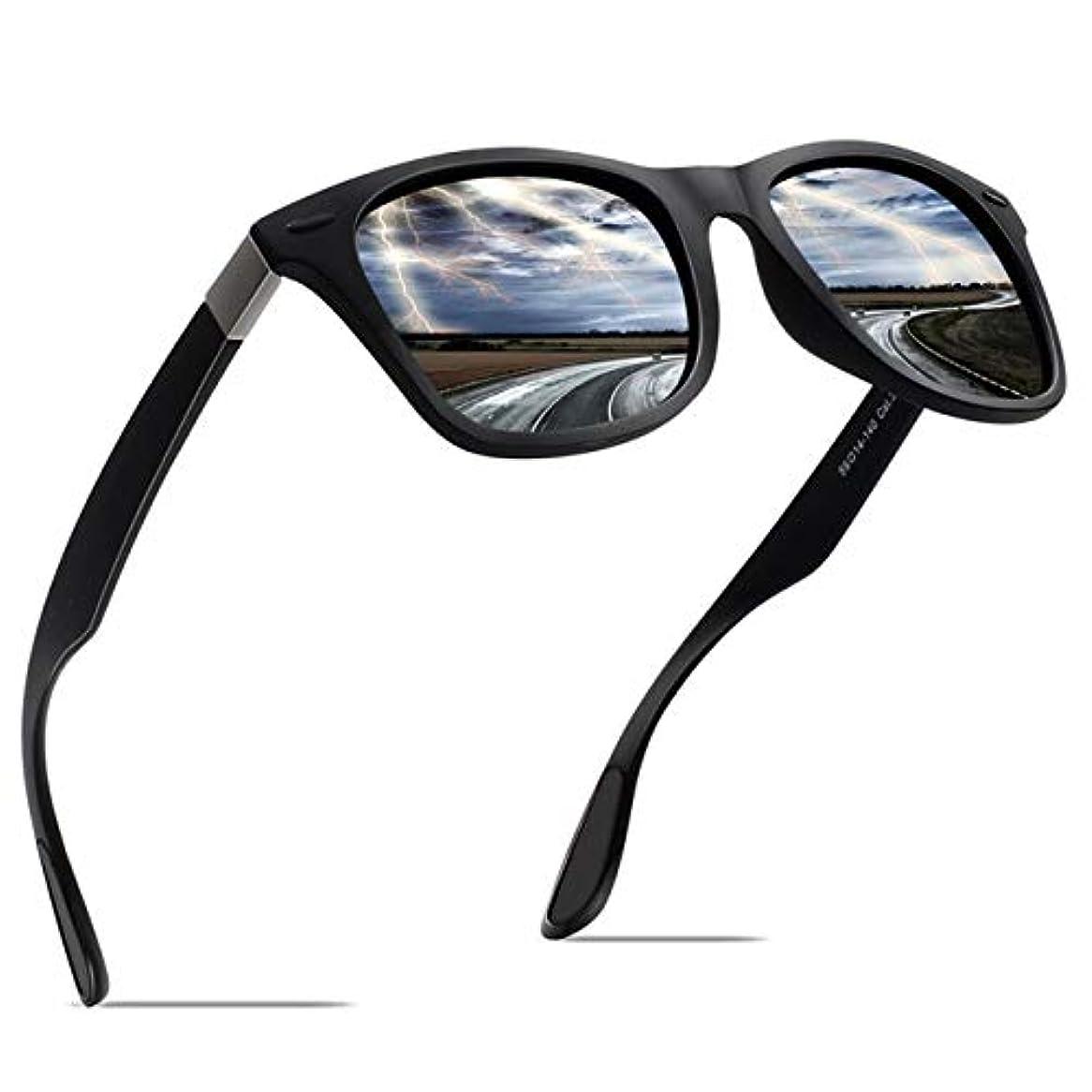 減少困難メッセンジャーJULI 偏光レンズ サングラス レディース メンズ 偏光男女兼用 TR90 フレーム F4195