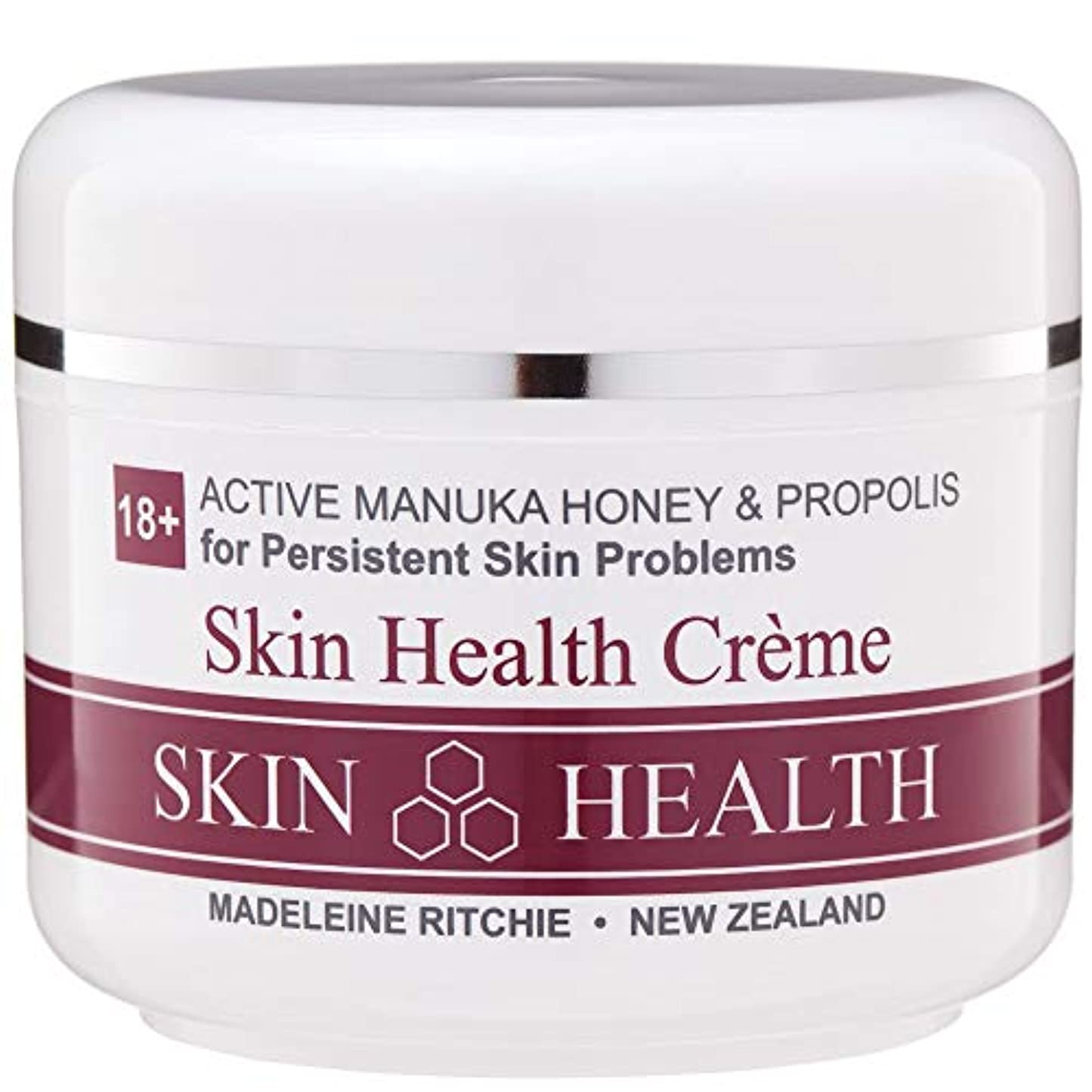 樹木後者タフMadeleine Ritchie New Zealand 18+ Active Manuka Honey Skin Health Cream Jar 100ml