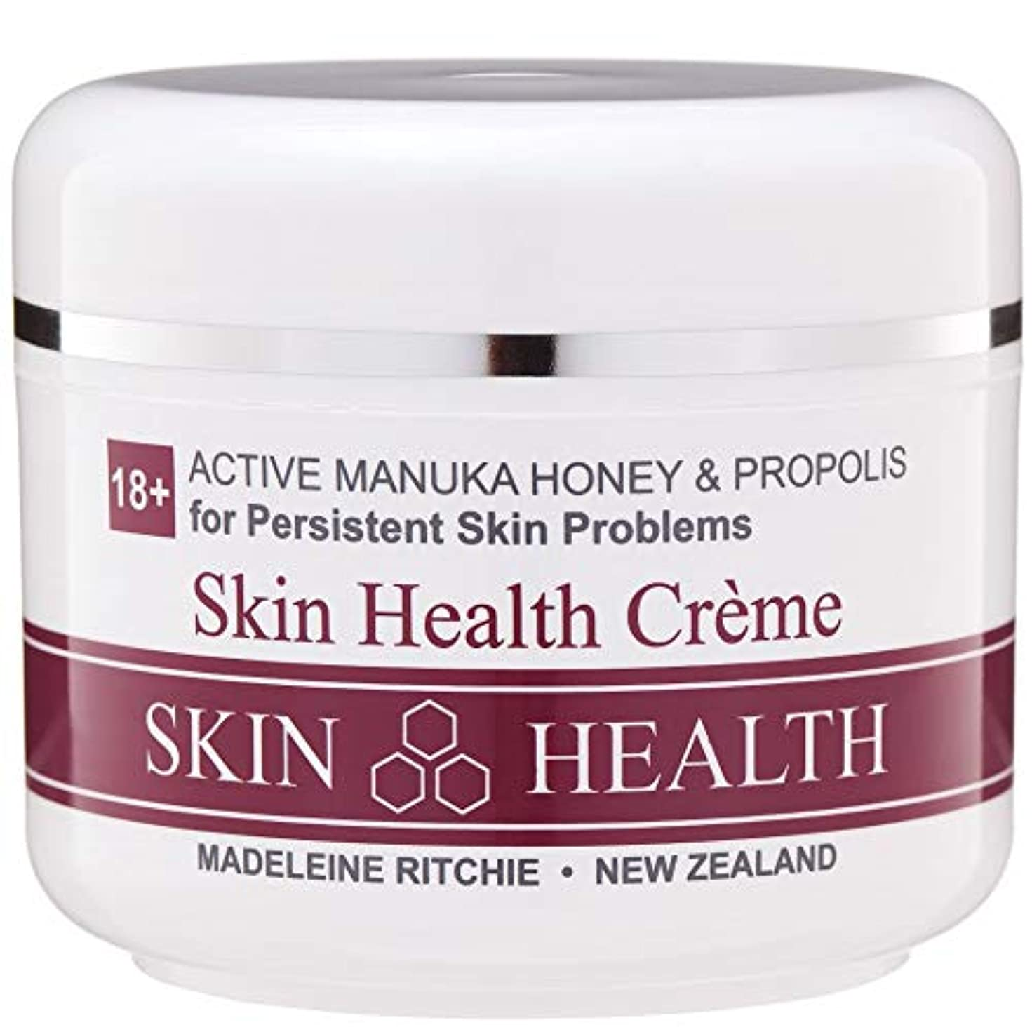 資本幽霊ウォルターカニンガムMadeleine Ritchie New Zealand 18+ Active Manuka Honey Skin Health Cream Jar 100ml