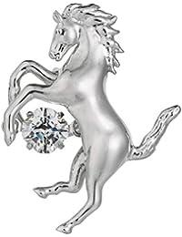 Crossforクロスフォー Rodeo馬 ラペルピン ブローチ NM-T002