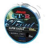 アプロード GT-R トラウト スーパーリミテッド 100m 0.65号 3lb カムフラージュカラーリーフシルバー