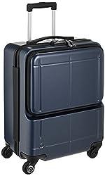 [プロテカ] スーツケース 日本製 マックスパスH2s サイレントキャスター 機内持込可 保証付 40.0L 46cm 3.3kg 02761 03 ブルーグレー