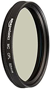 Amazonベーシック 円偏光フィルター 52mm  CF02-NMC16-52