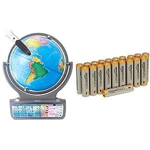 【電池付き】ドウシシャ しゃべる地球儀 パーフェクトグローブ HORIZON ホライズン