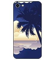 iPhone 8 専用 選べる デザイン プリント ケース TPU 背面 強化 ガラス 絶景 04