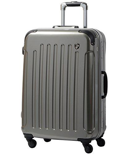 S型 シャンパンシルバー / newPC7000 スーツケース キャリーバッグ TSAロック搭載 (1~3日用)