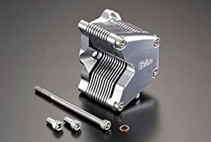 Gクラフト (Gcraft) アルミビレットオイルクーラー横型エンジン用10段 37024