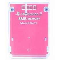 プレイステーション2専用 メモリーカード8MBピンク
