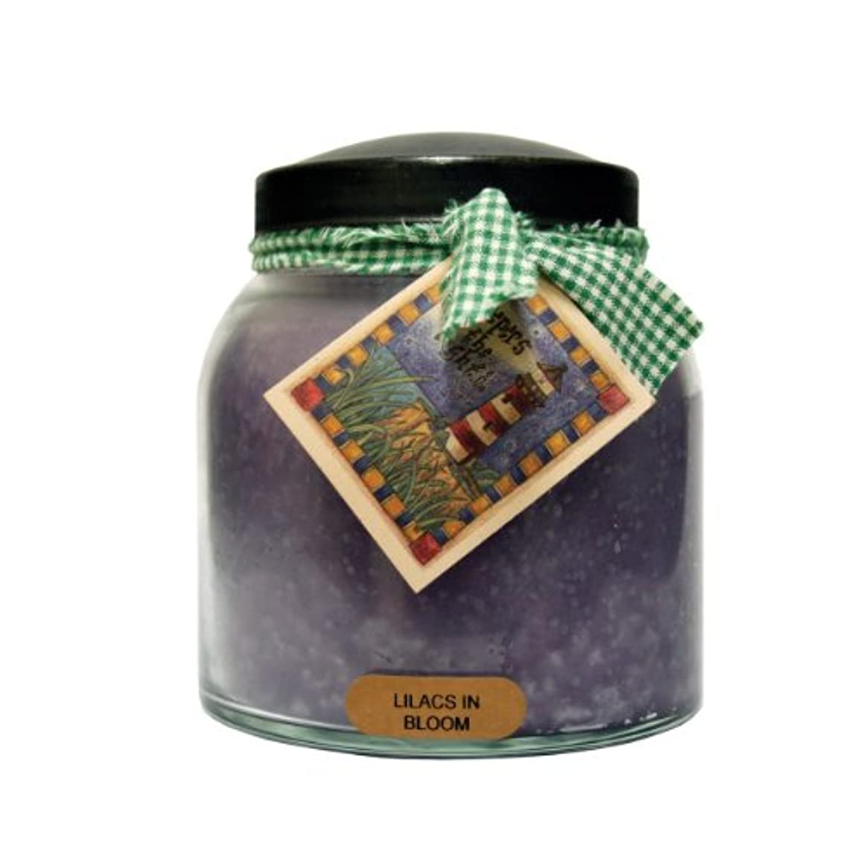 シーンホール嫌なA Cheerful Giver Lilacs In BloomベビーJar Candle 34oz JP80