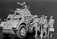 マスターボックス 1/35 イタリア歩兵4体・戦車兵1体 第二次世界大戦 プラモデル MB35144