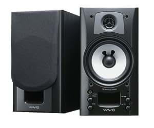 ONKYO WAVIO アンプ内蔵スピーカー 15W+15W ブラック GX-70HD(B)