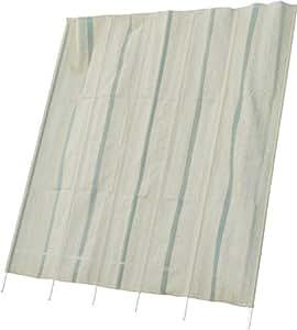 不二貿易 洋風たてす 240cm×240cm グリーン 84028