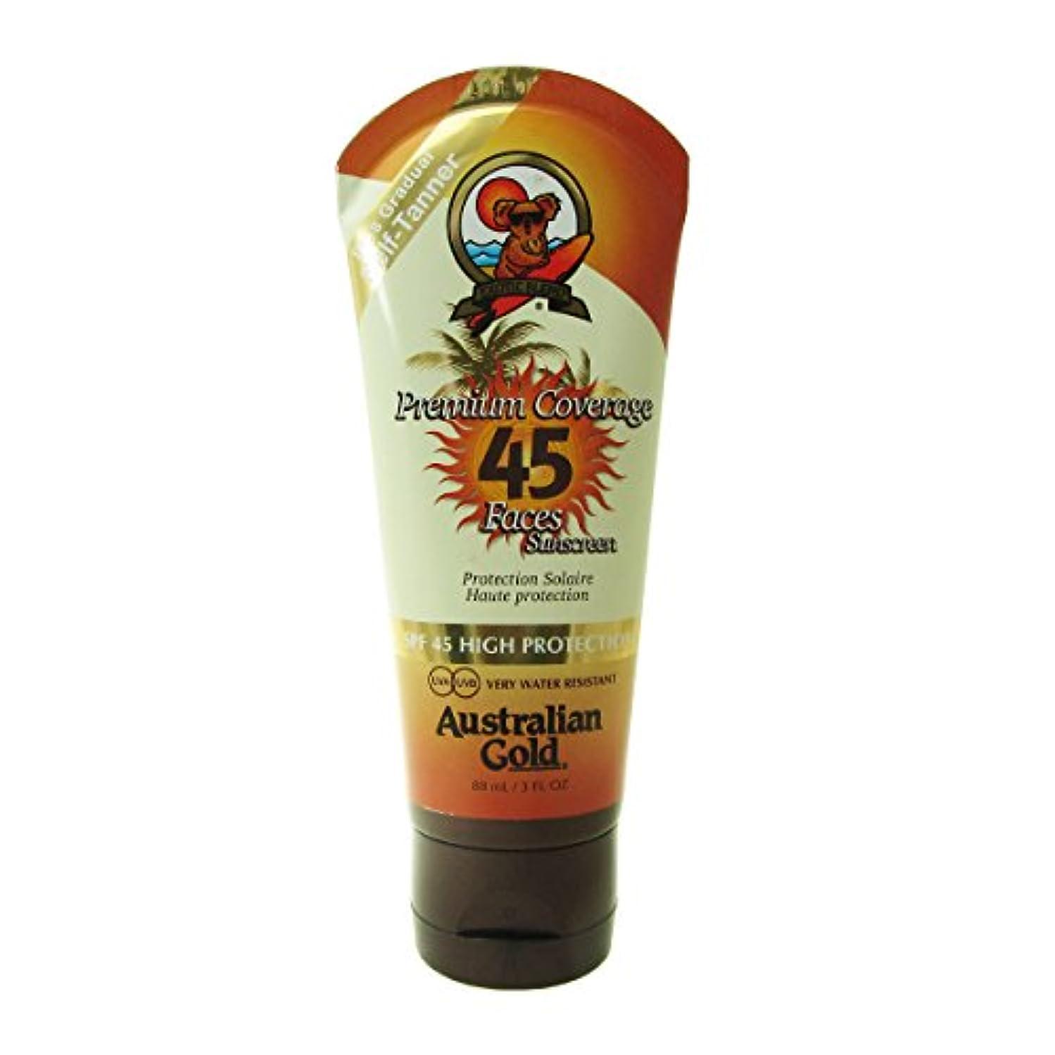 Australian Gold Sunscreen Spf 45 With Self-tanner 88ml [並行輸入品]