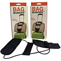 Baggaroo| Luggage Belt/Strap| Easily secure your Handbag/Travel/Business/Laptop/Coat to your Suitcase (Two Pack)
