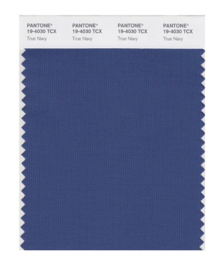 ひいきにする二十スロベニア(True Navy) - PANTONE SMART 19-4030X Colour Swatch Card, True Navy