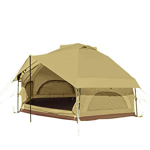 DOD(ディーオーディー) キノコテント かわいい 簡単 ワンタッチ テント T4-610-BG