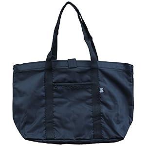 優美社 エコバッグ レジカゴバッグ 巾着タイプ 30L 黒 #3483-00