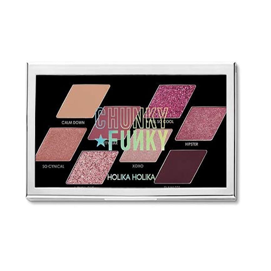 収入置くためにパック選ぶホリカホリカ チャンキーメタル8色アイシャドウパレット/HOLIKA Chunky Metal Eyeshadow Palette 韓国コスメ (02 FEEL SO COOL) [並行輸入品]