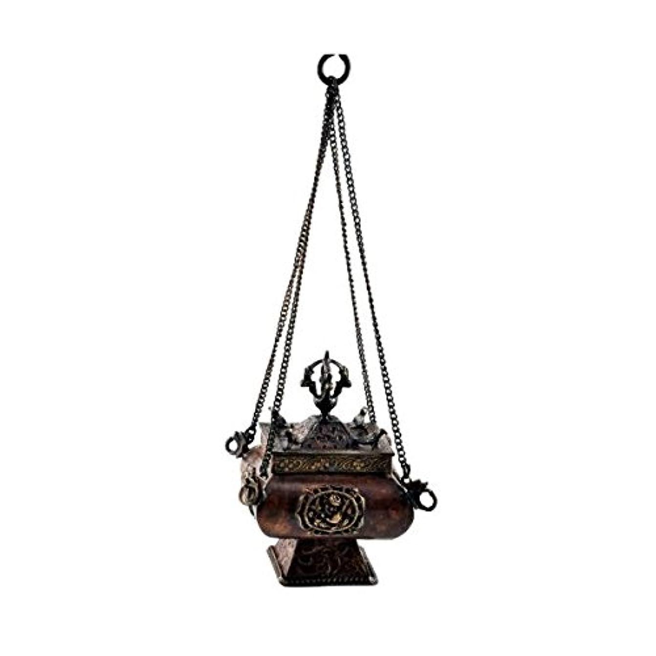 販売計画錆び唯一プレミアム品質銅真鍮Hanging Incense Burner Incense Burner