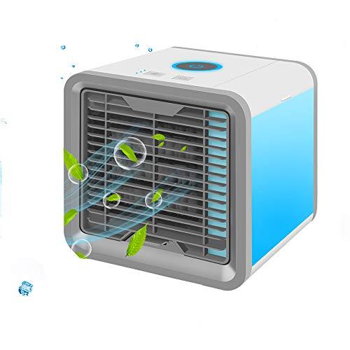 ミニ冷風扇 扇風機 usb 卓上 冷風機 ミニエアコンファン...