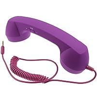 ican® iPhone ipad iPhone 7 用 受話器 !! レトロ で おもしろ 便利 スマホ グッズ パープル