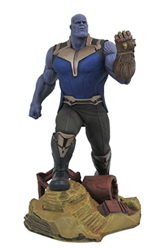 Diamond Select Toys Marvelギャラリー: Avengers infinity War Movie Thanos PVC Diorama Figure