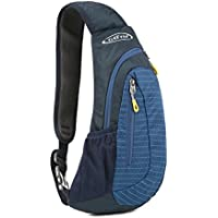 G4Free ワンショルダー ボディバッグ メンズ ショルダーバッグ 軽量 スポーツ ワンショルダーバッグ 斜め掛けバッグ 防水 サイクリング ハイキング キャンプ 旅行 男女兼用