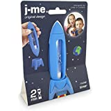 (Red) - j-me Rocket Toothbrush Timer - Plastic Sand Timer Encourages Children to Brush their Teeth