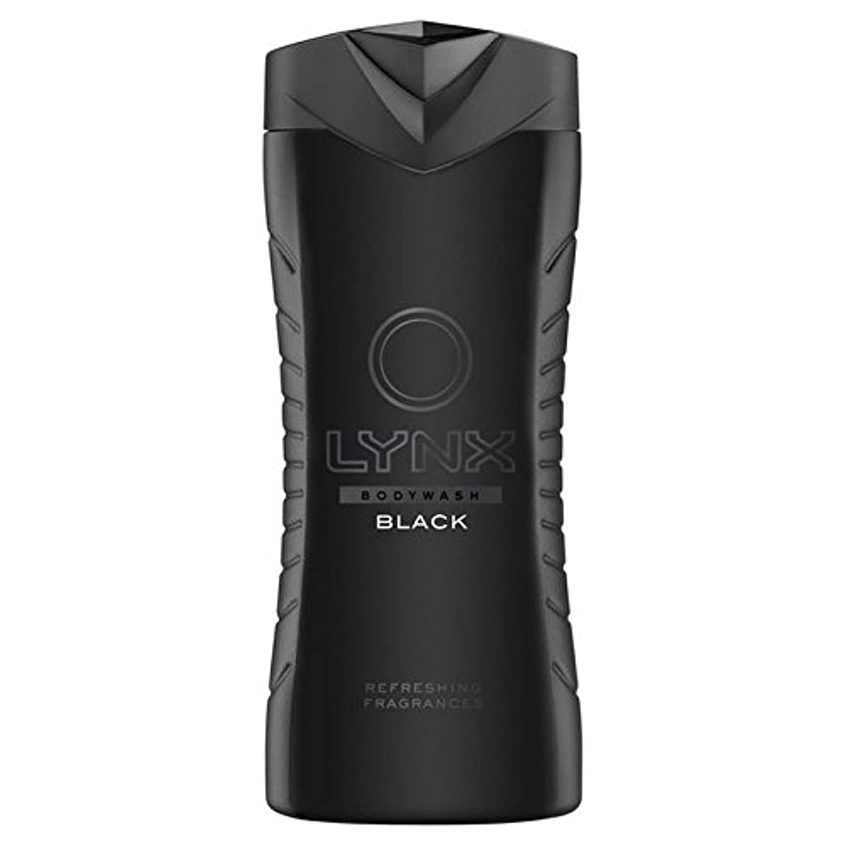 台無しに一杯排除するLynx Black Shower Gel 400ml - オオヤマネコブラックシャワージェル400ミリリットル [並行輸入品]