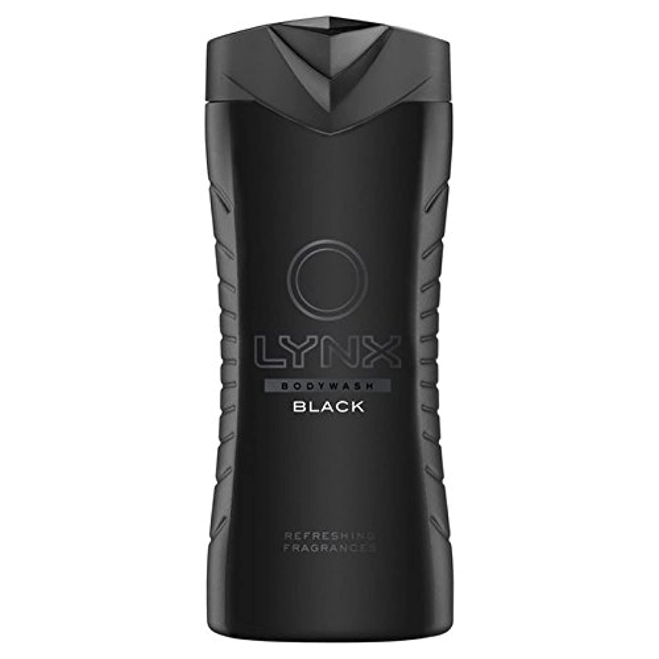 プレフィックス落胆するエピソードオオヤマネコブラックシャワージェル400ミリリットル x2 - Lynx Black Shower Gel 400ml (Pack of 2) [並行輸入品]