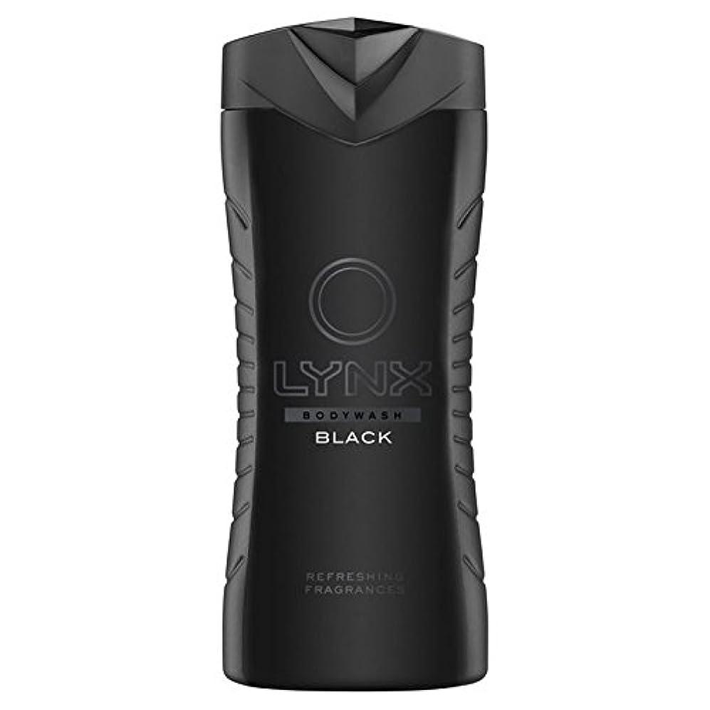 当社野心的花束Lynx Black Shower Gel 400ml - オオヤマネコブラックシャワージェル400ミリリットル [並行輸入品]