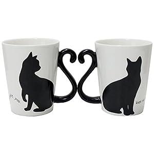 アルタ マグカップル 黒猫/シンプル AR0604085