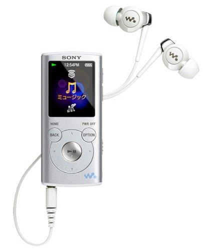 SONY ウォークマン Eシリーズ [メモリータイプ] 4GB シルバー NW-E053/S