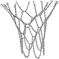 Fenteer レジャー 標準 交換用 スチール バスケットボール ゴール リング ネット  替えネット スリヴァー