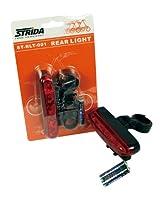 STRIDA(ストライダ) キャリア取り付け可能リアライト ブリスターパッケージ ST-RLT-001 レッド