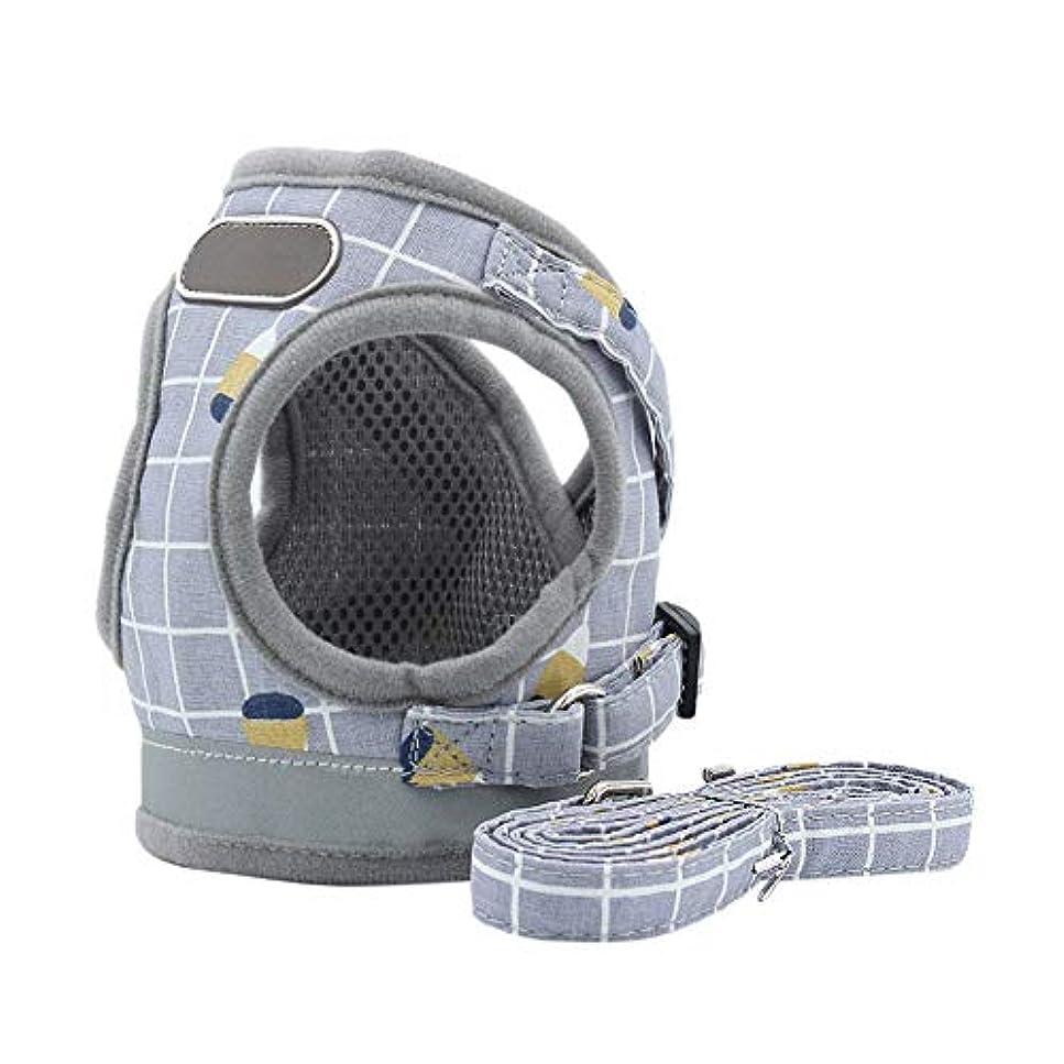 自分自身置き場解任Balai ペット セーフ 旅行用品 小型 中型 犬用 ポリエステル 通気性 反射 ウォーキング ベスト 反射式 チェストベルト ハーネス