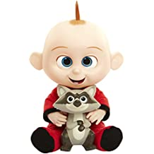 The Incredibles 2 Jack Attacks Plush Action Figure Doll with Racoon