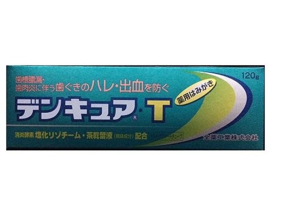 カートン割れ目失態デンキュアT 120g【医薬部外品】