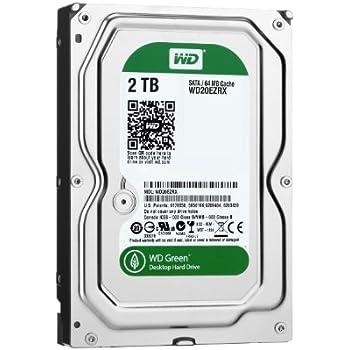 【Amazon.co.jp限定】WD 内蔵HDD Green 2TB 3.5inch SATA3.0(SATA 6 Gb/s) 64MB Inteilipower 2年保証 WD20EZRX/N (FFP)