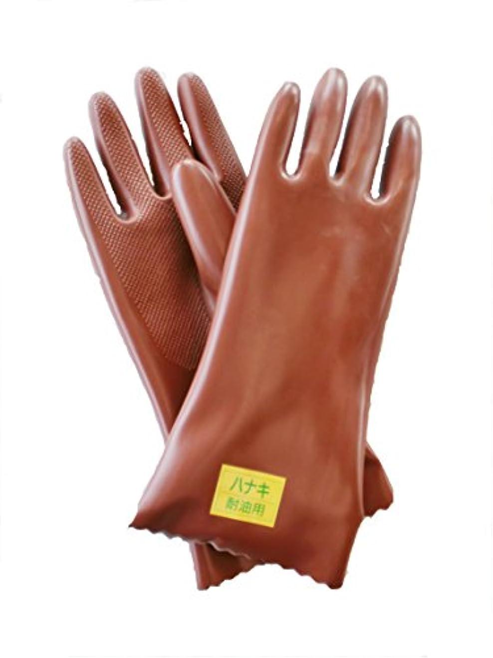 汚染壮大なバーベキューハナキゴム かいてき耐油手袋 C型 1双