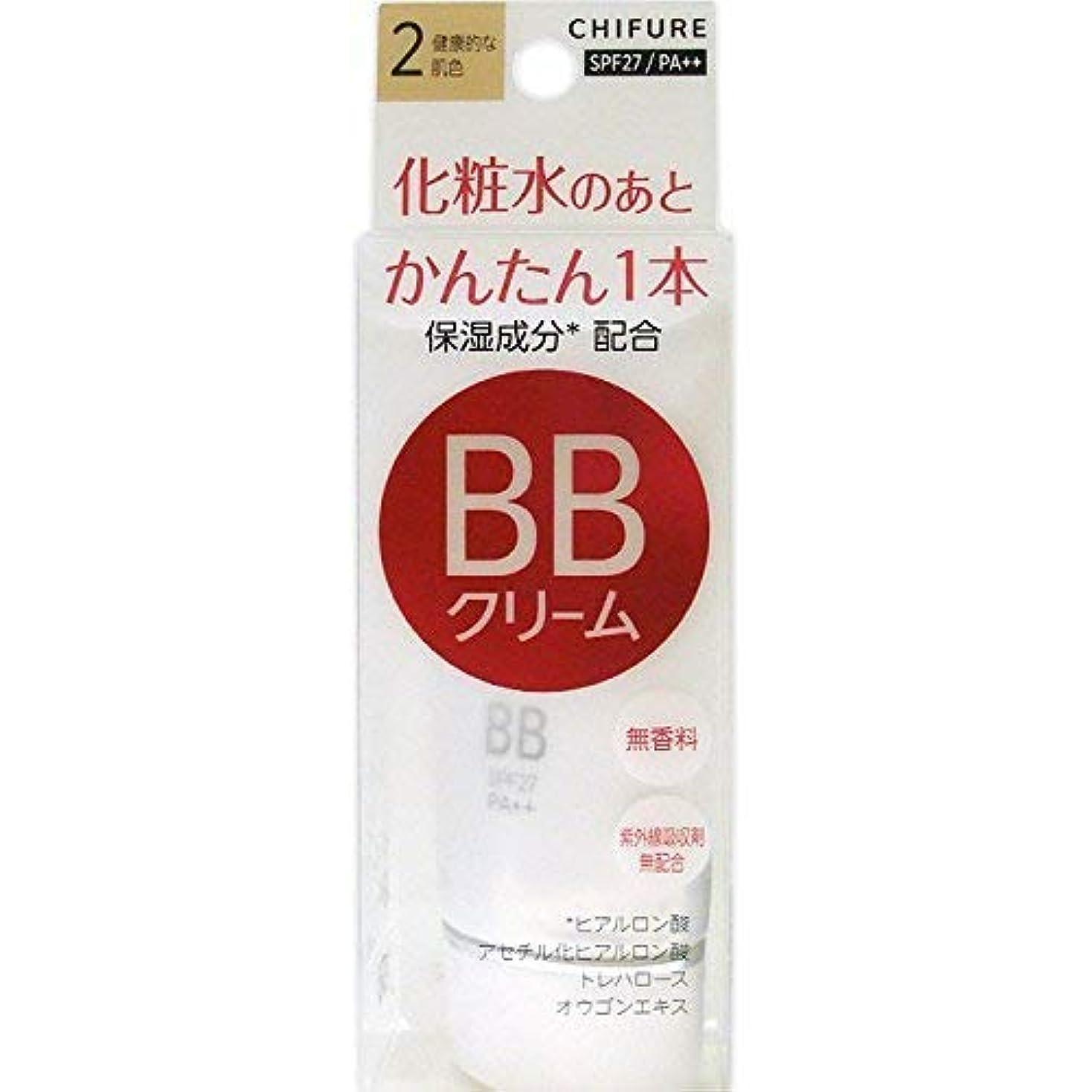 しないでください広大なハイジャックちふれ化粧品 BB クリーム 2 健康的な肌色 BBクリーム 2