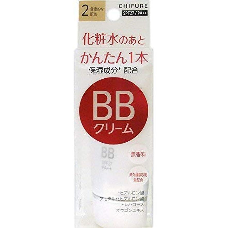 採用する船尾歯車ちふれ化粧品 BB クリーム 2 健康的な肌色 BBクリーム 2