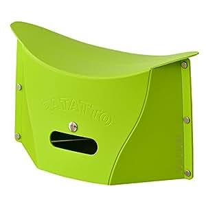 DORIS 折りたたみ椅子 2個セット 軽量 コンパクト アウトドア グリーン パタットミニ